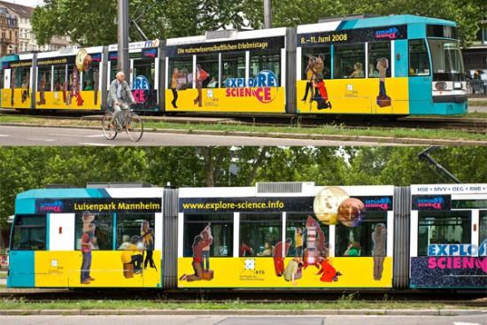 04 bedruckte Straßenbahn Mhm